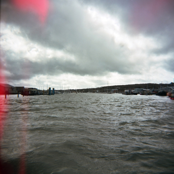 The River Medina from the Cowes Chain Ferry