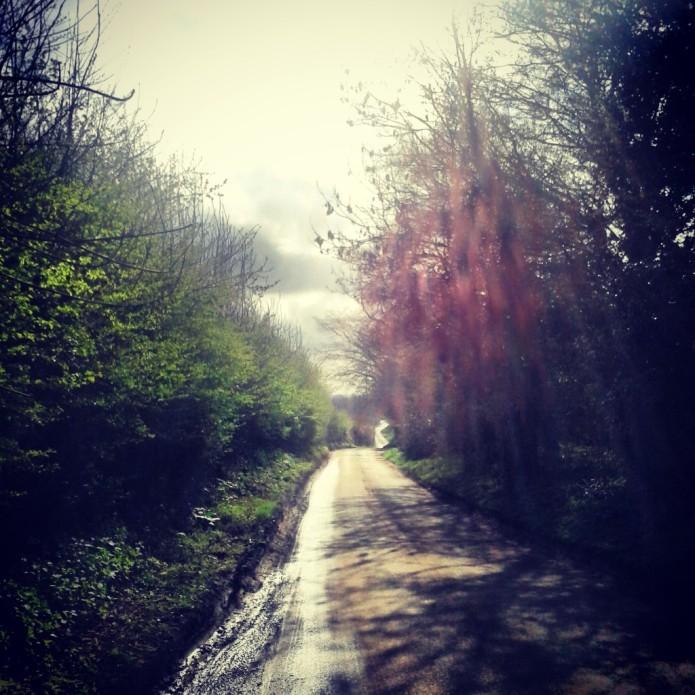 Plummerden Lane, between Lindfield and Sheffield Park