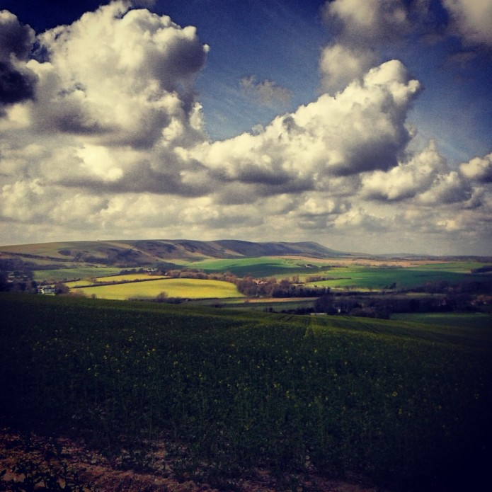 The best view in the whole of Sussex. Maybe.
