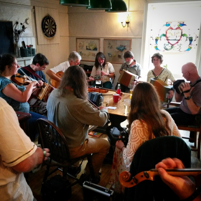 Live music in the Swan.