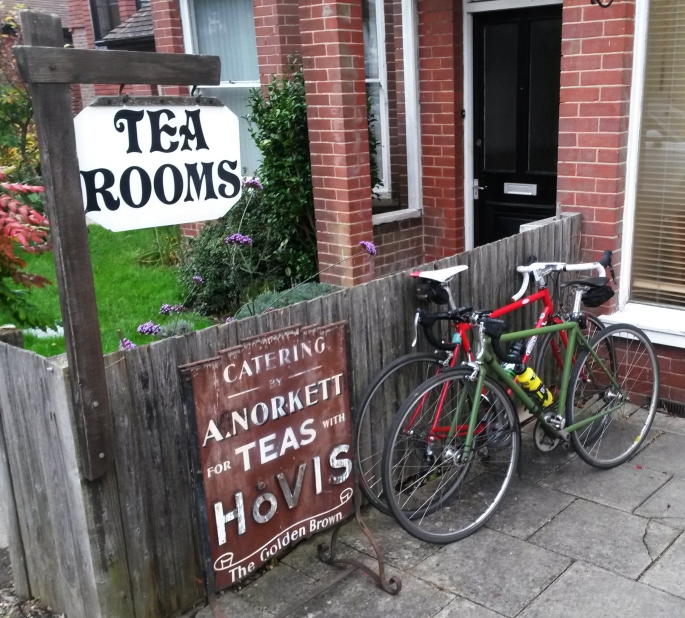 ...at Balcombe Tea Rooms